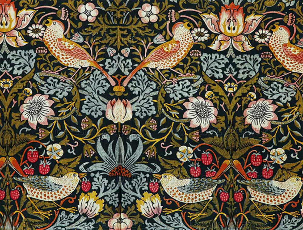 william morris an artist or craftsman of vessels