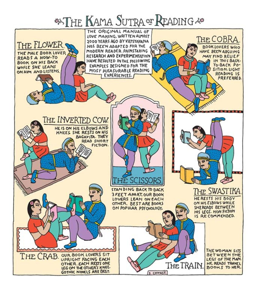 Large the kama sutra of reading