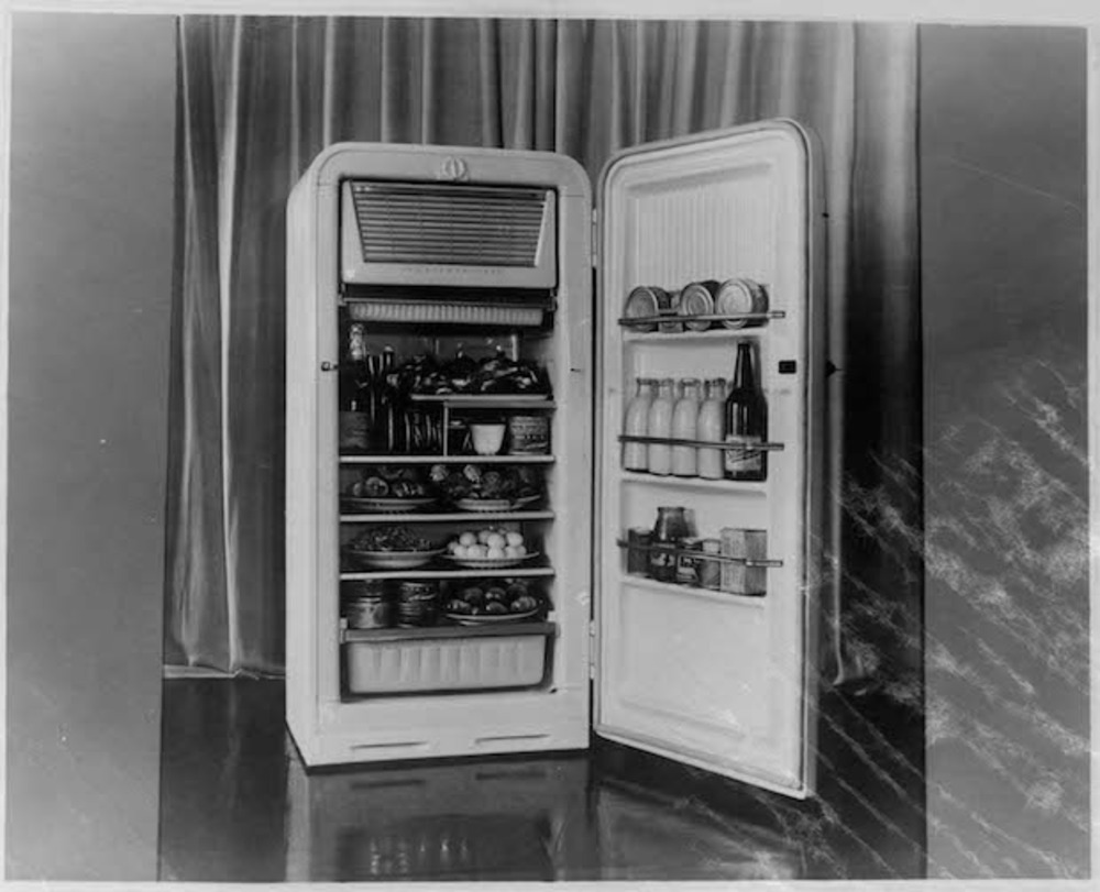 Large l zil refrigerator  1950s  courtesy zil and grad