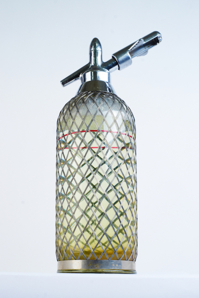 Large p seltzer bottle  1960s. courtesy grad and moscow design museum