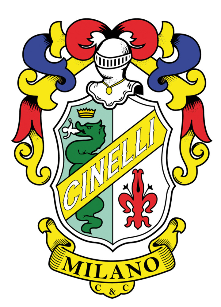 Large cinelli old logo
