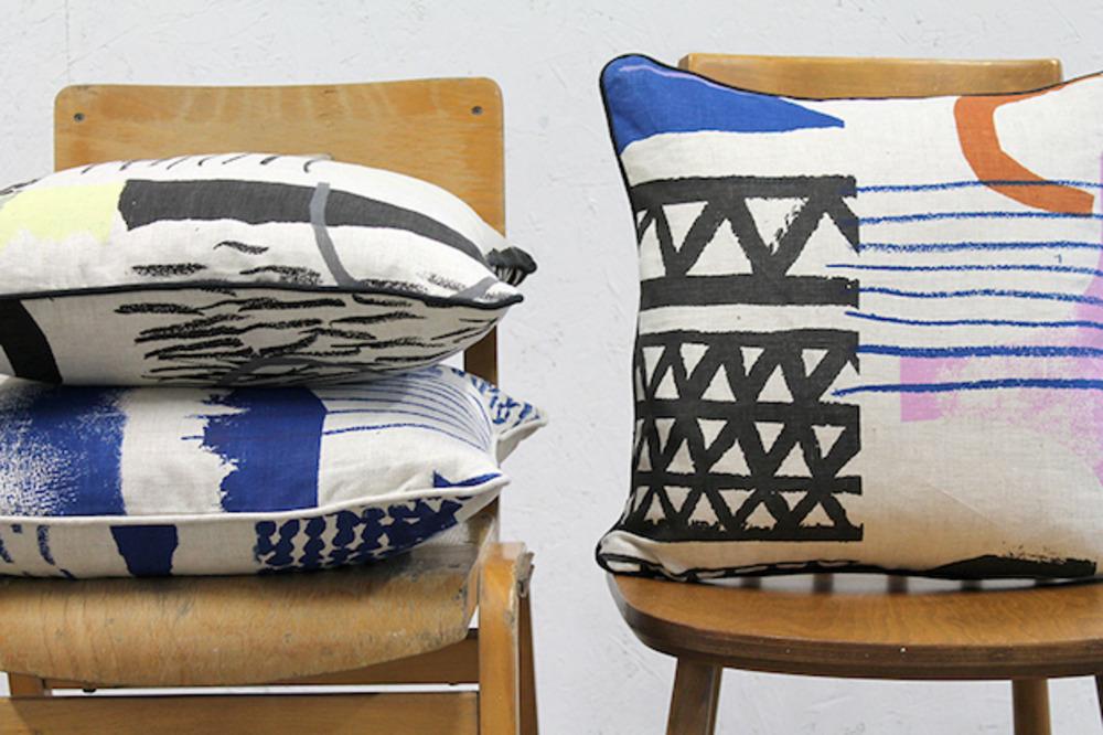 Large l laura slater assembleconfigure 45 x 45 square cushions