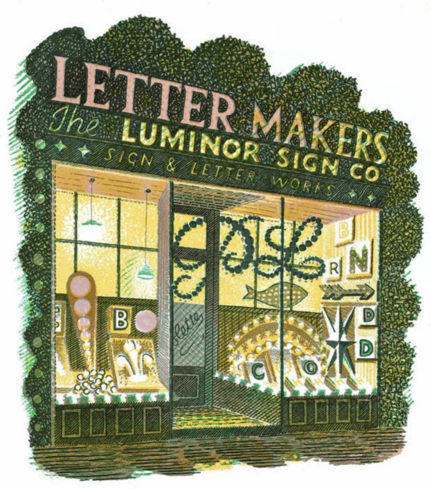 Large letter maker