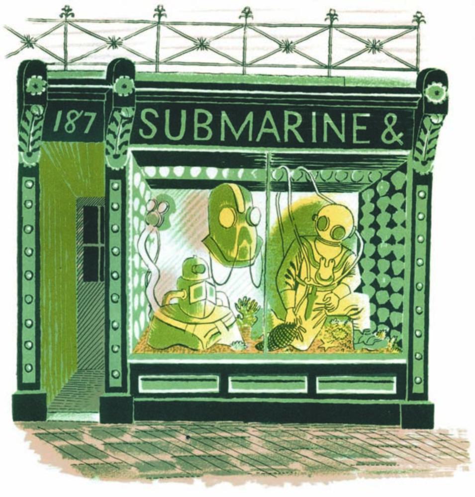 Large submarine engineer