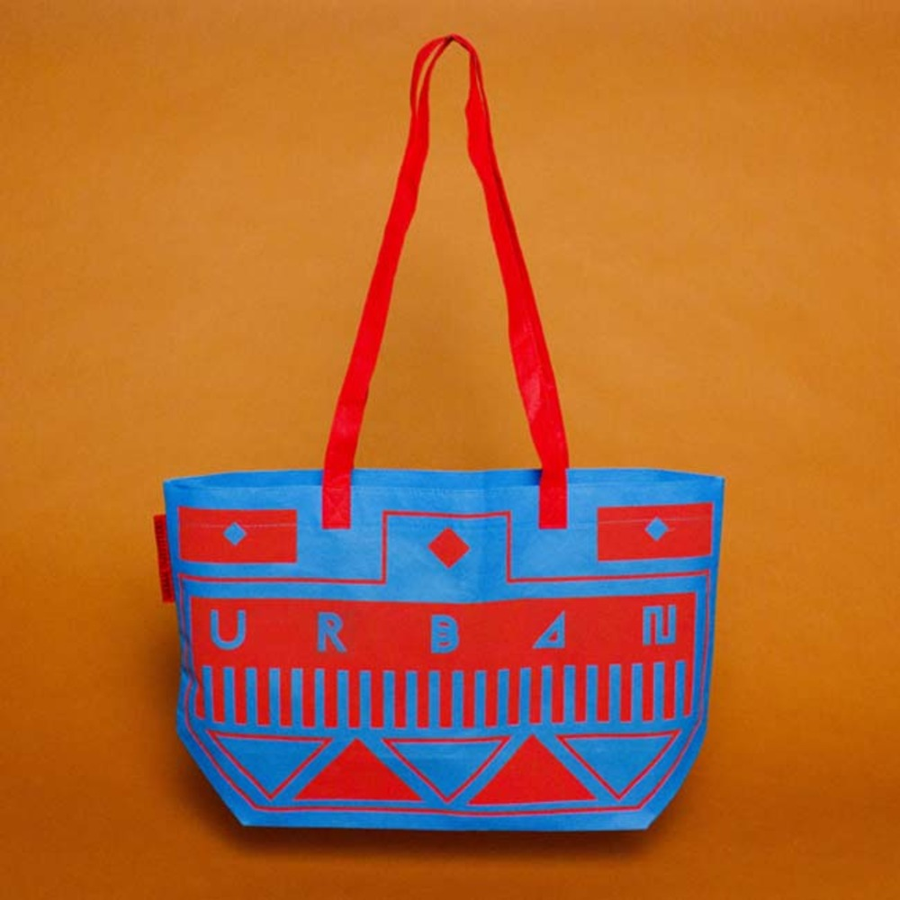 Large urban outfitters carrier bag design june 2011
