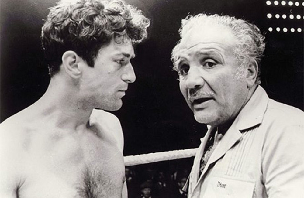 Large raging bull   1980 mgm all rights reserved.