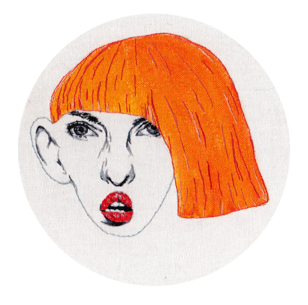 Large new designers 2014   one year on   louise jones    pretty ugly orange