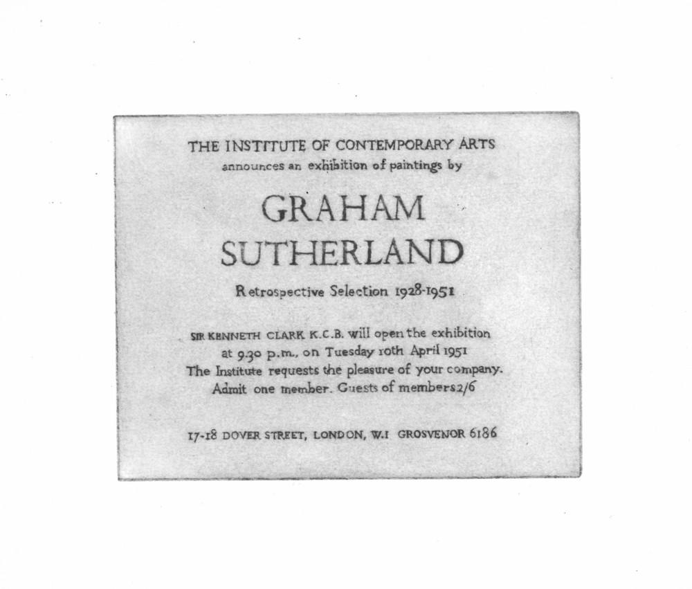 Large 1951 graham sutherland
