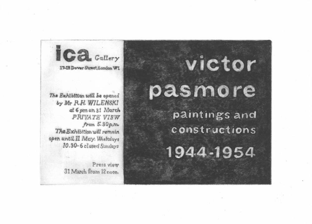 Large 1954 pasmore