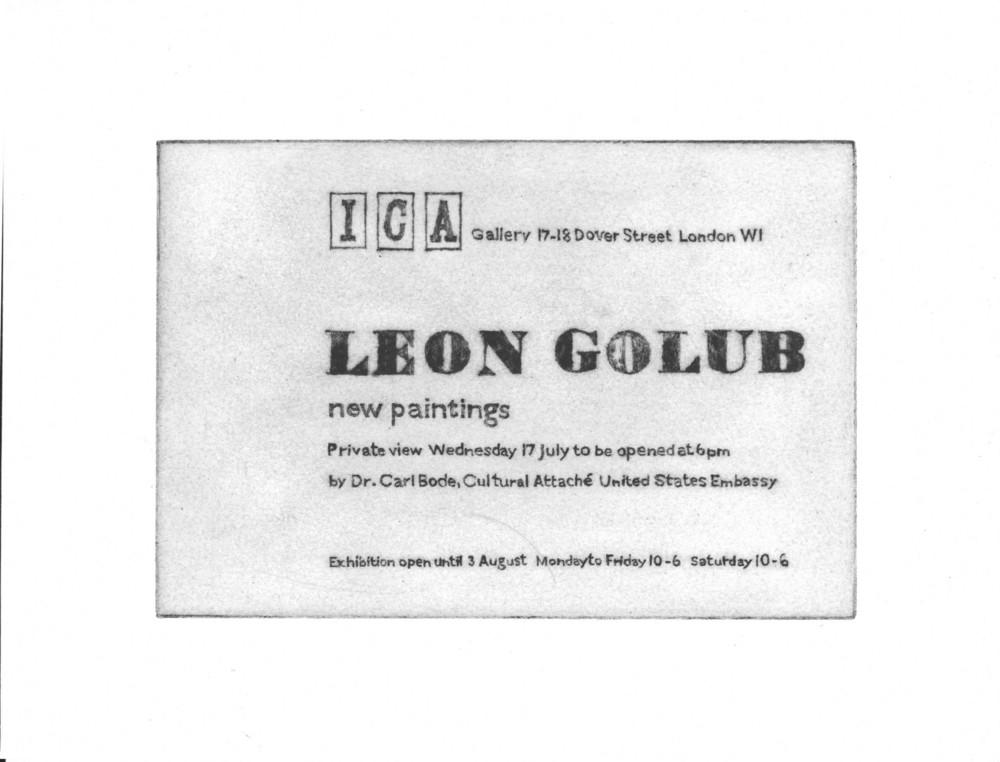 Large 1957 golub