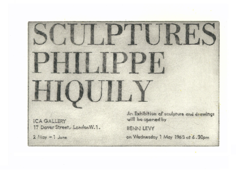 Large 1963 philippe hiquily