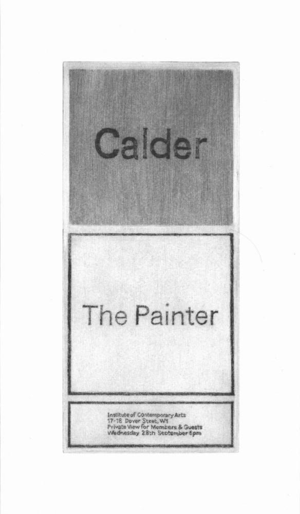 Large 1966 calder