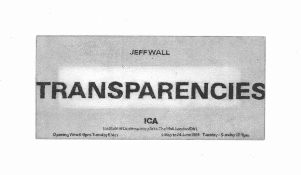 Large 1984 wall