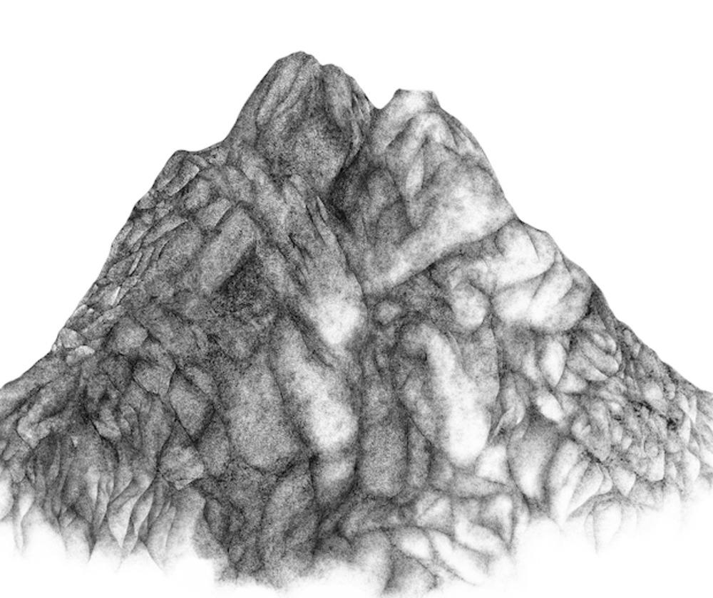 Large l j.argo molecular mountain