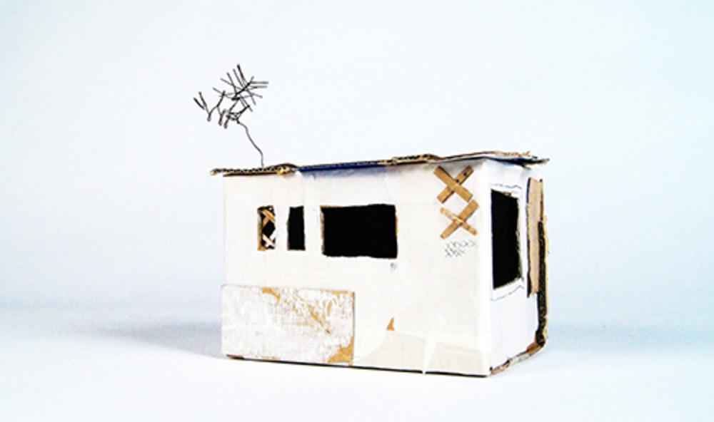 Large slum  paper and cardboard  2012