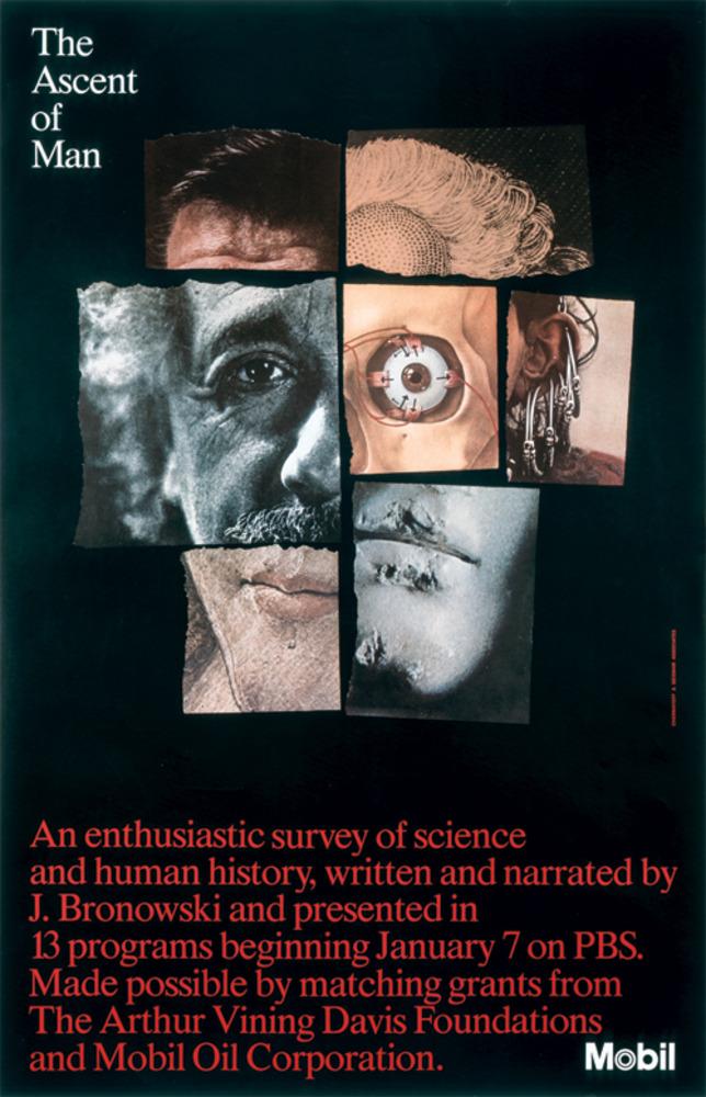 Large ascent of man mobil poster 1975 copy