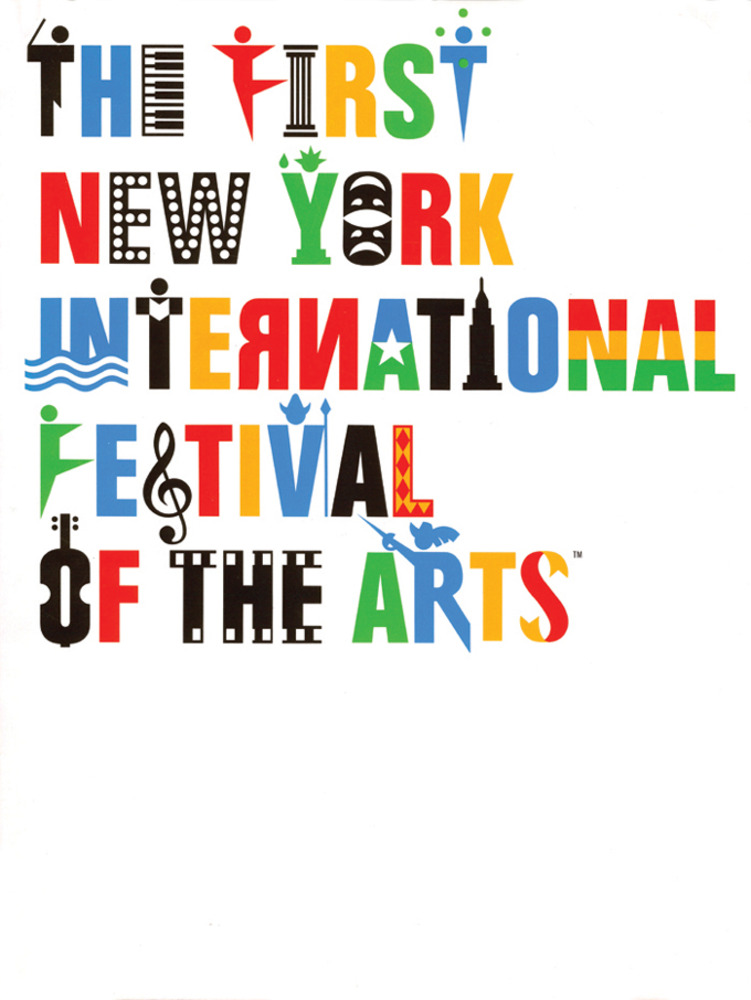 Large first new york festival of the arts