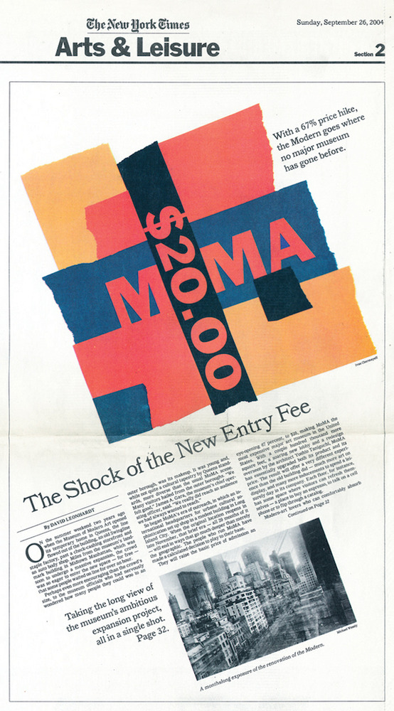 Large new york tines moma 20 fee sept 26 2004