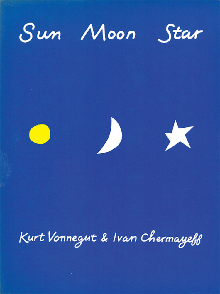 Large sun moon stars book