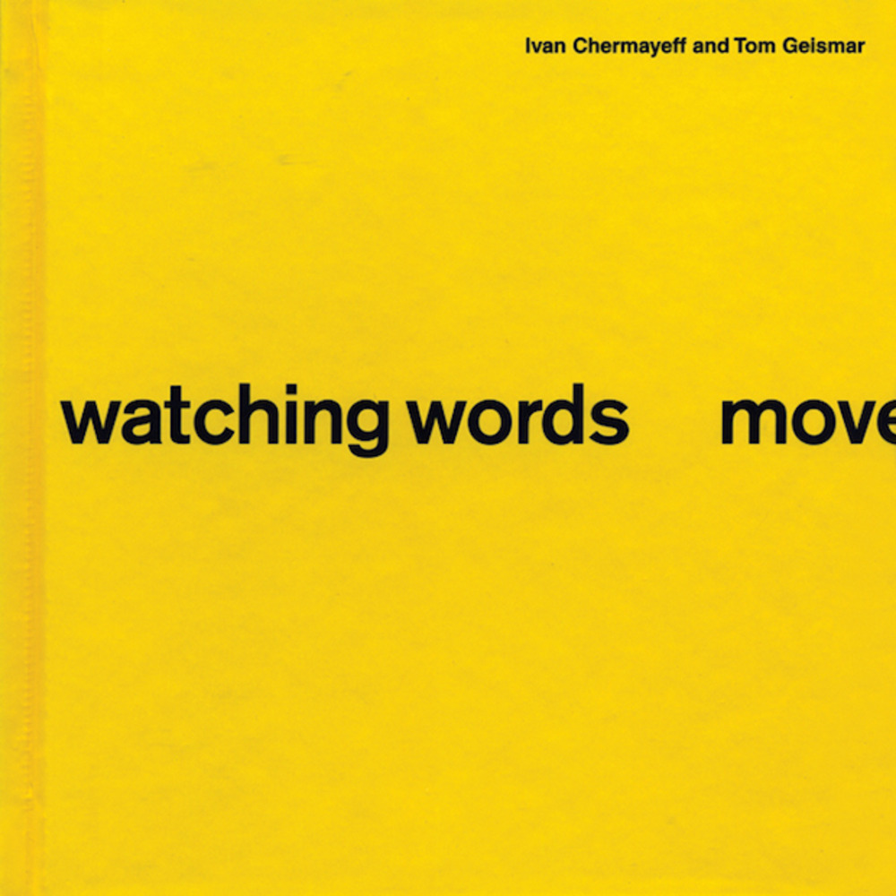 Large watching words move book