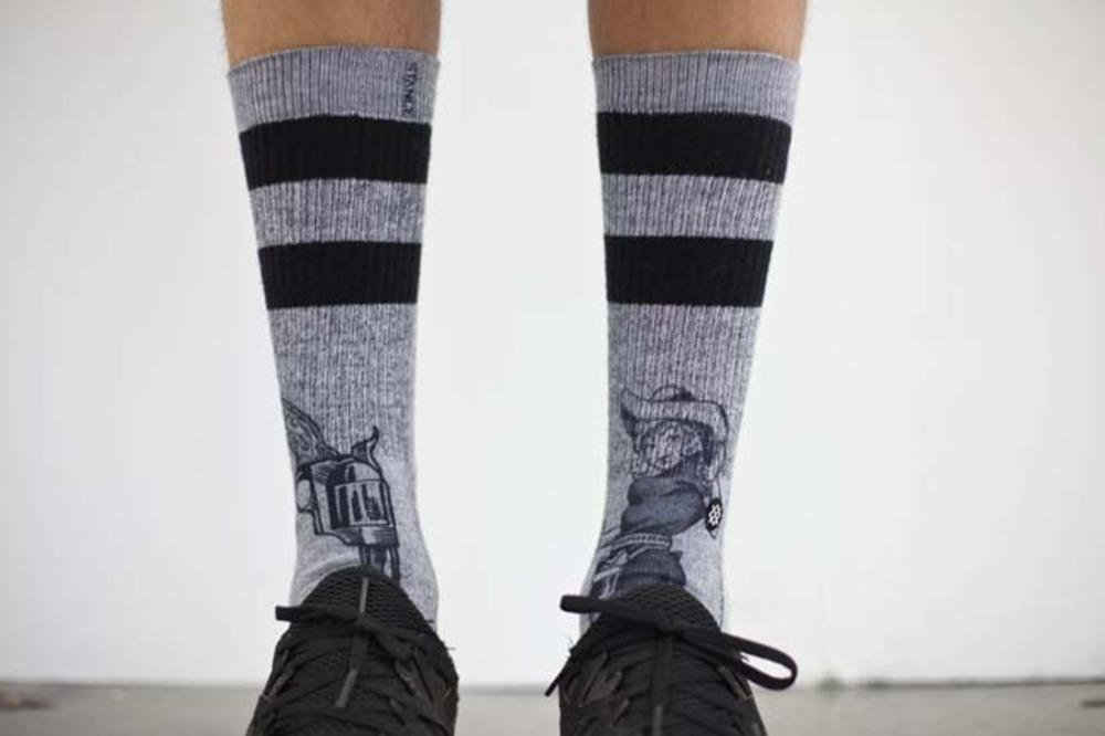 Large stance socks
