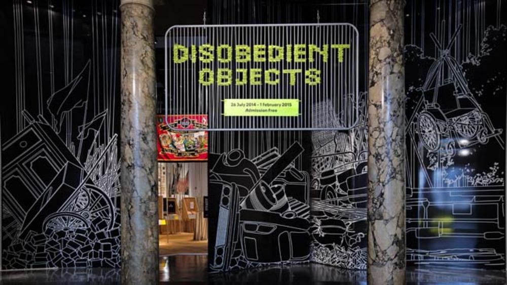Large installation image disobedient objects c victoria and albert museum london 1