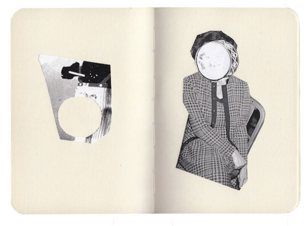 Large  circumference   collage  from book   2013  fran gordon