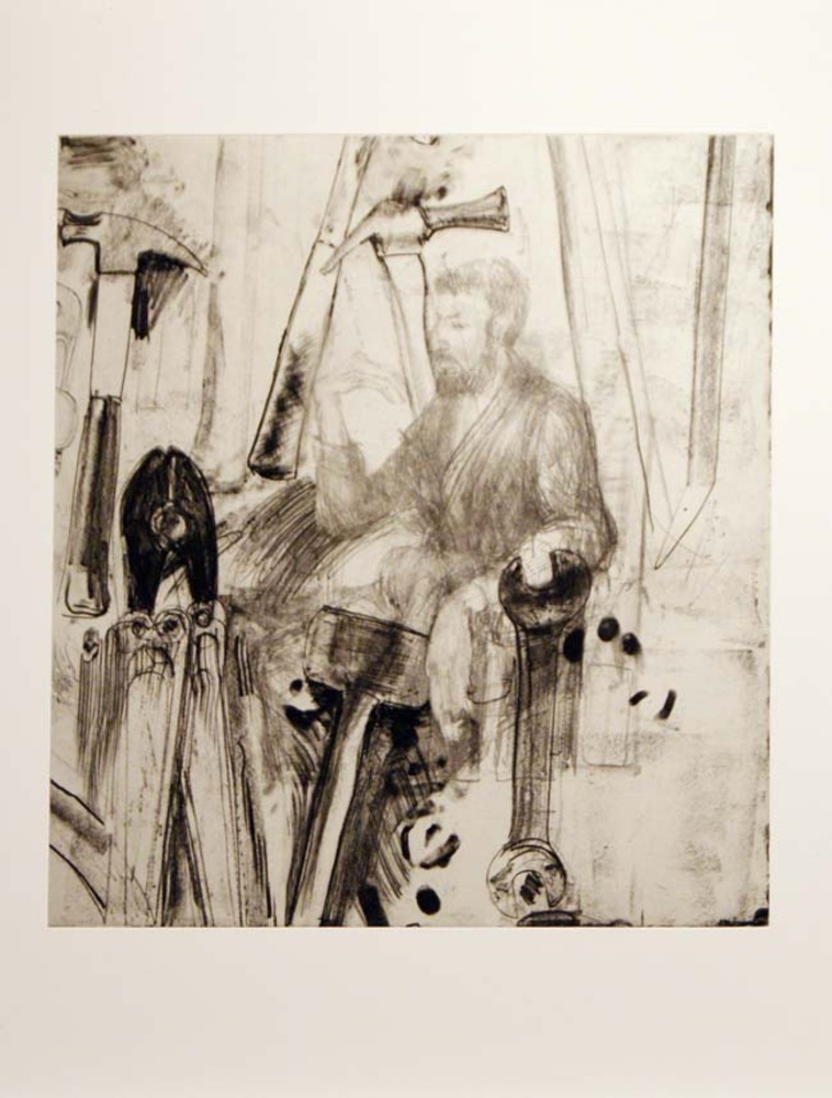Large jim dine  a history of communism  2012  one of a suite of 45 stone lithographs with additional etching and engraving  edition of 10  courtesy of alan cristea gallery 14