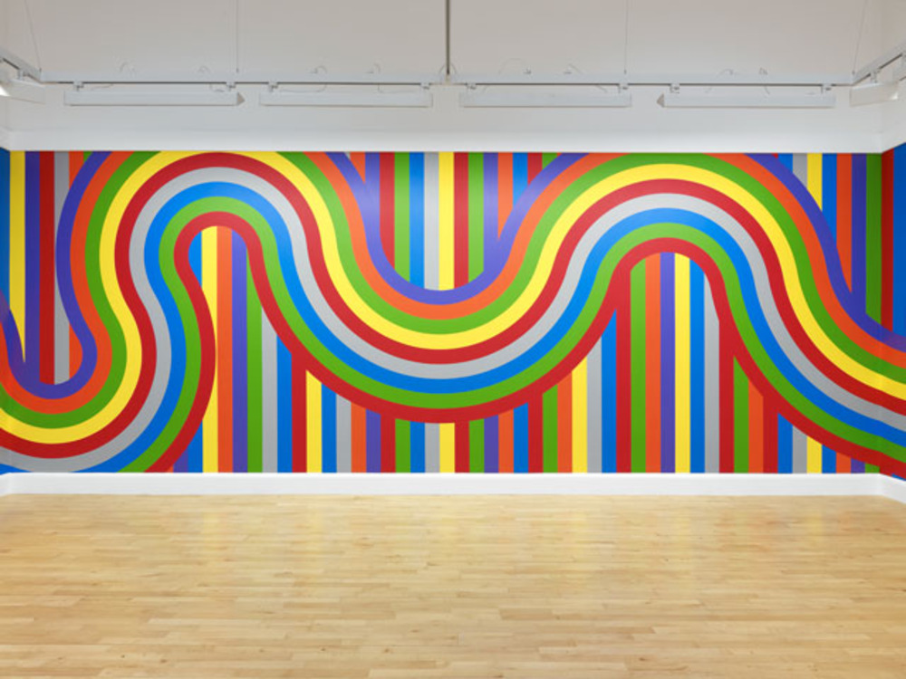 Large lewitt   wall drawing 1