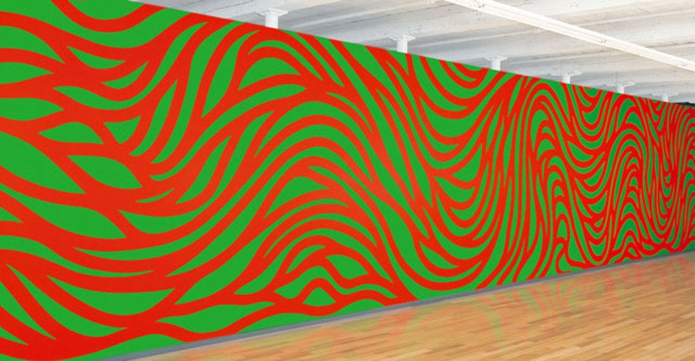 Large lewitt   wall drawing 4