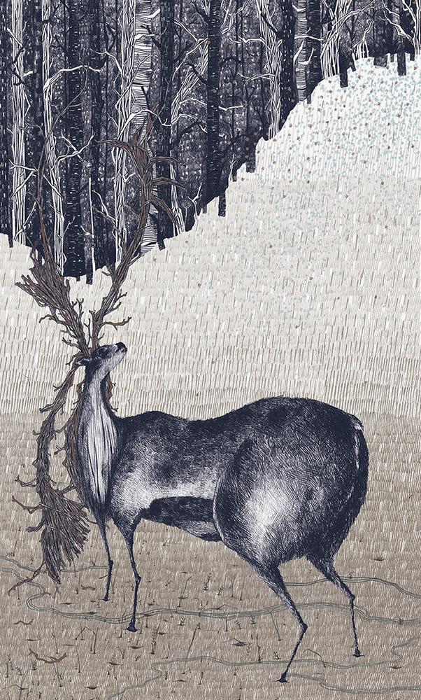 Large suthipa deer