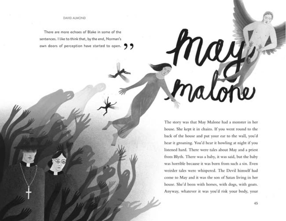 Large maymalone