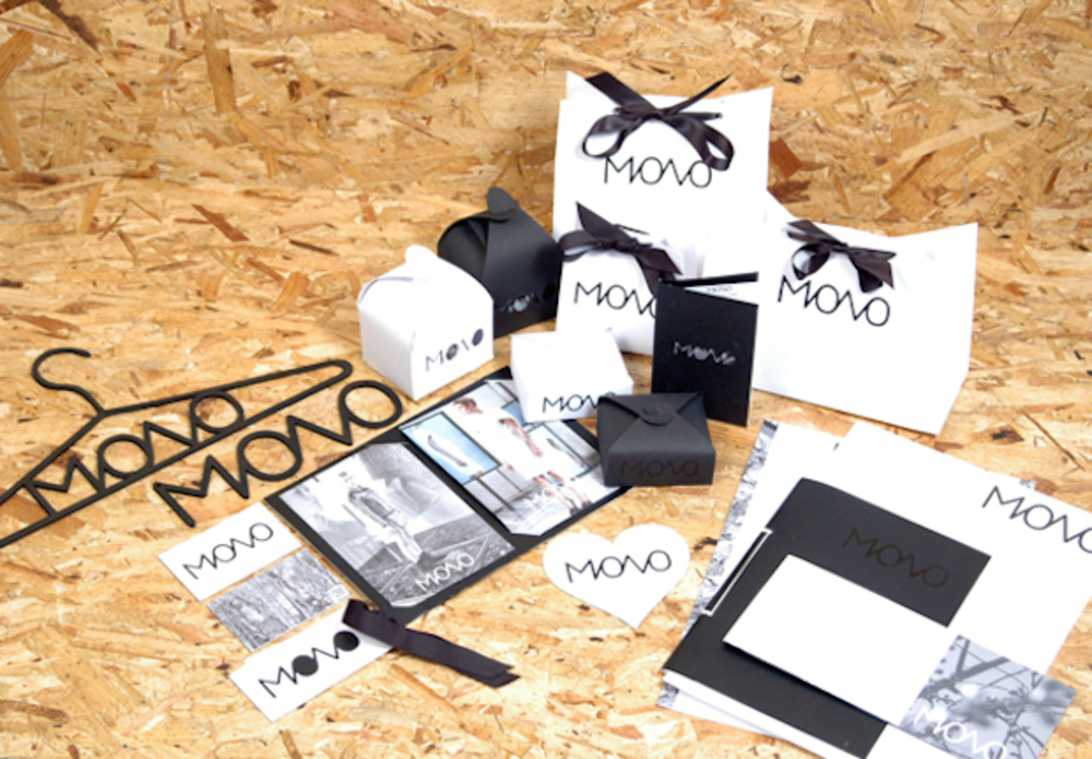 Large mono branding overview