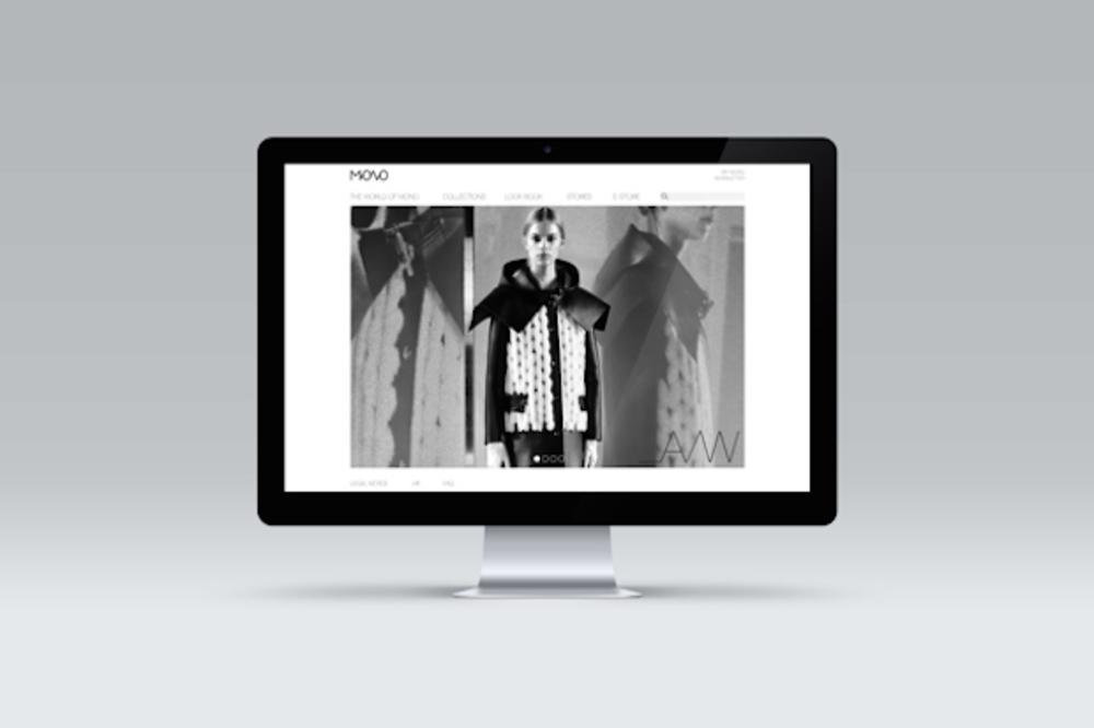 Large mono website
