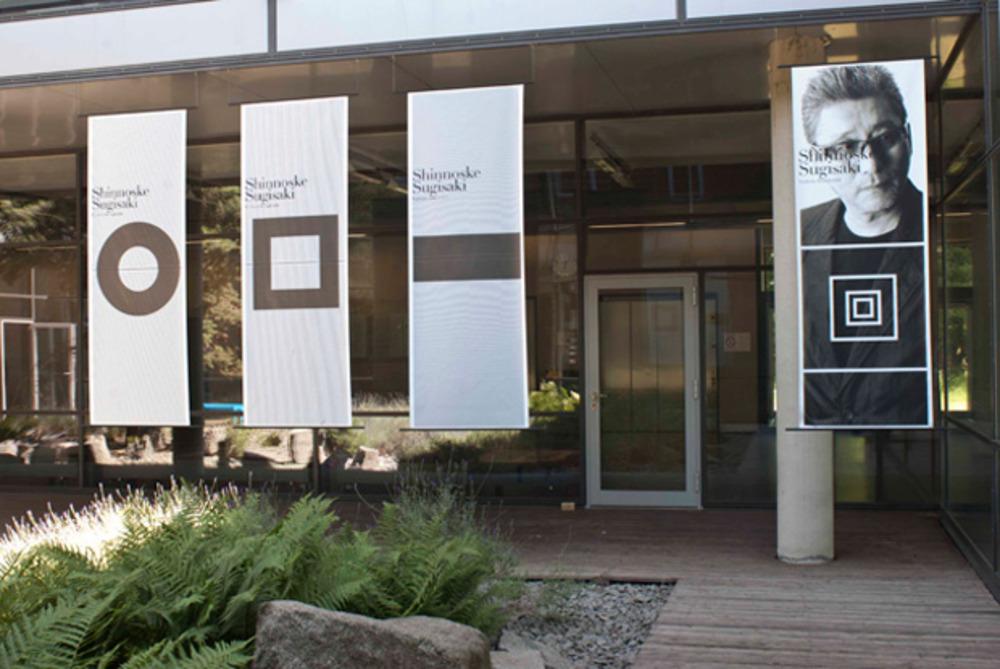 Large 1%2b1 exhibition design for  shinnoske sugisaki and yoshimaru takahashi 2011 04