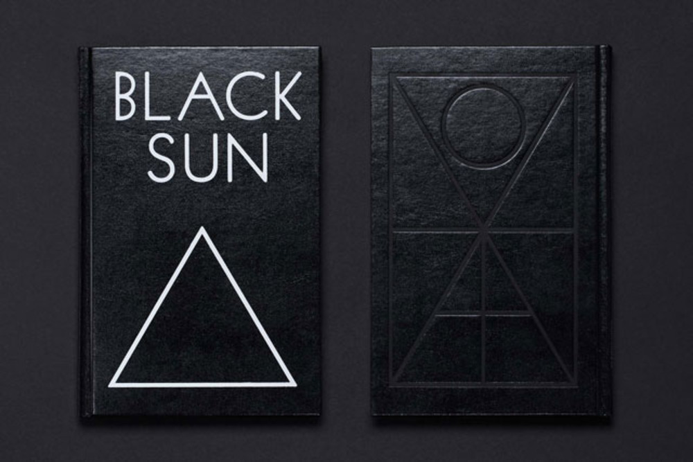 Large black sun cover low
