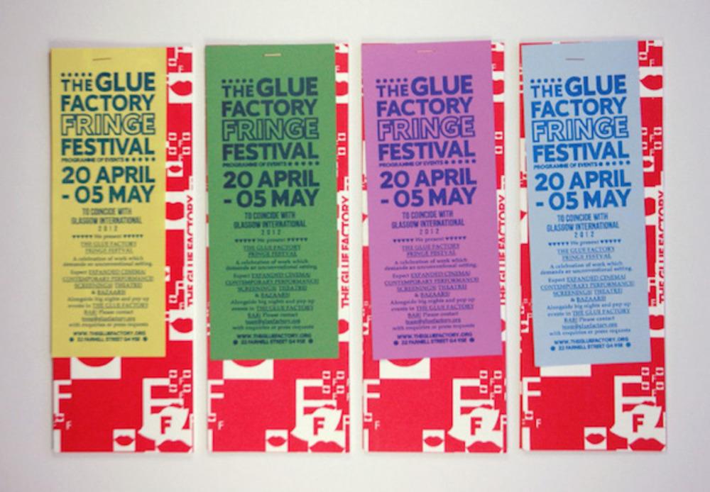 Large oona brown glue factory gi fringe festival programme