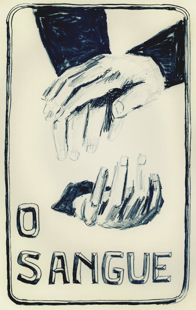 Large o sangue film poster  2